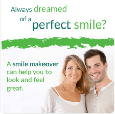 Always dreamed of a perfect smile? A smile makeover can help you to feel and look great.
