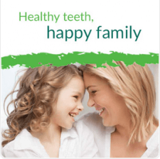 Healthy teeth, happy family
